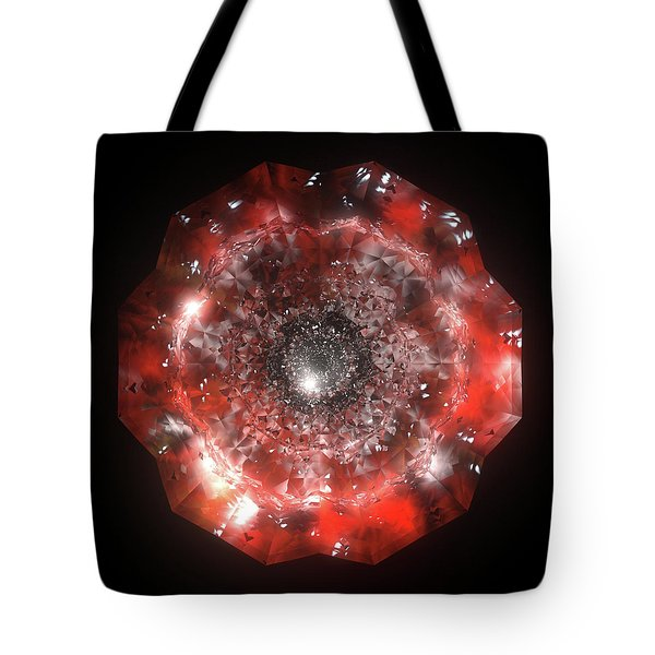 The Eye Of Cyma - Fire And Ice - Frame 50 Tote Bag