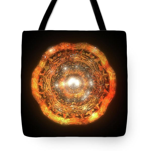 The Eye Of Cyma - Fire And Ice - Frame 7 Tote Bag