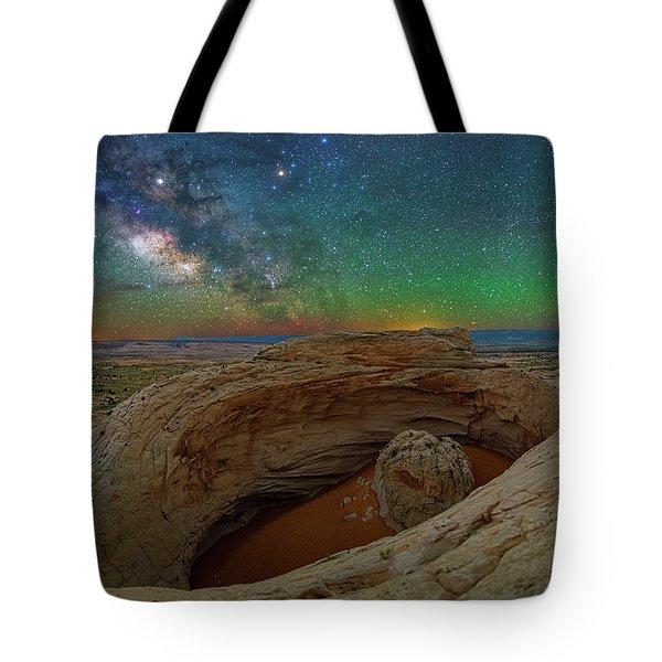 The Eye Of Earth Tote Bag