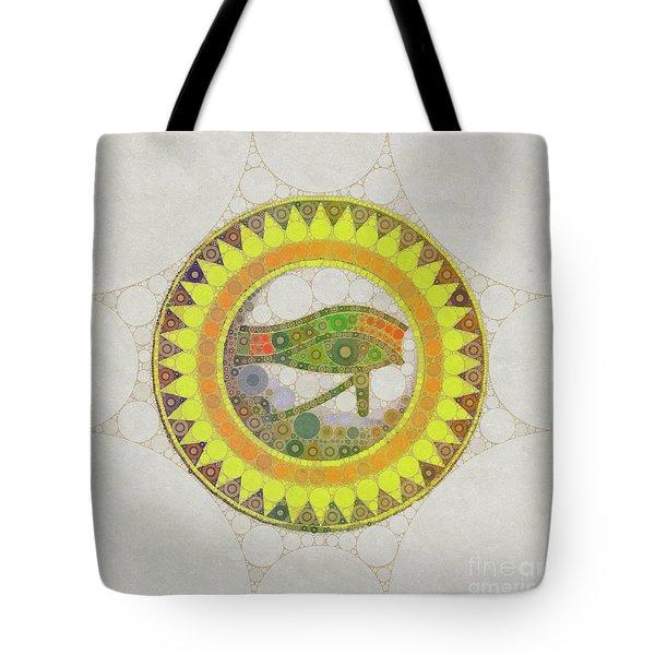 The Eye Of Horus, Pop Art By Mb Tote Bag