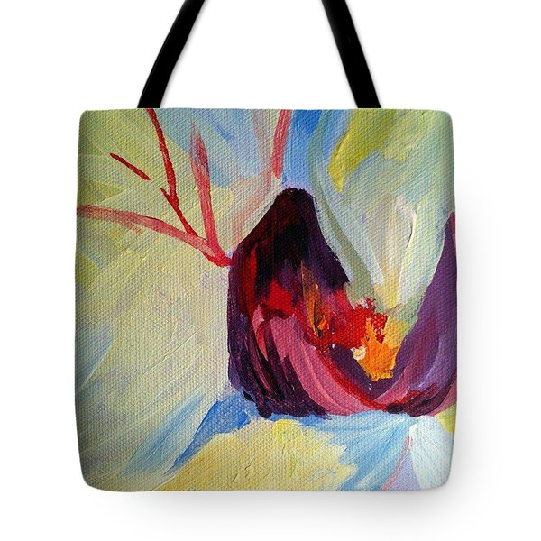 The Eye Of The Orchid Tote Bag