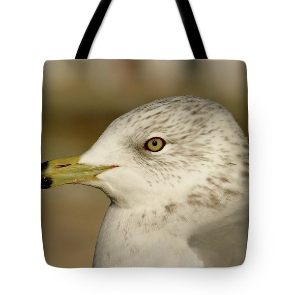The Eye Of The Seagull Tote Bag