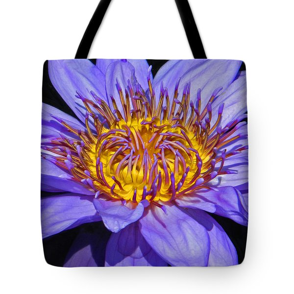The Eye Of The Water Lily Tote Bag