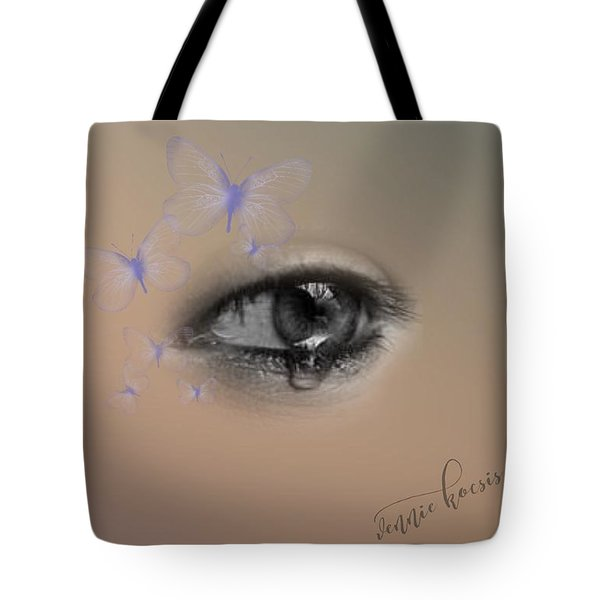 The Eyes Don't Lie Tote Bag