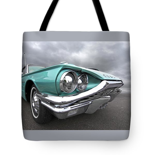 The Eyes Have It - 1964 Thunderbird Tote Bag by Gill Billington