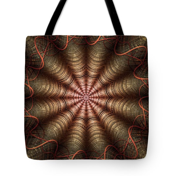 The Fabric Of The Space-time Continuum Tote Bag