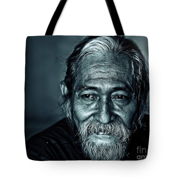 The Face Tote Bag by Charuhas Images
