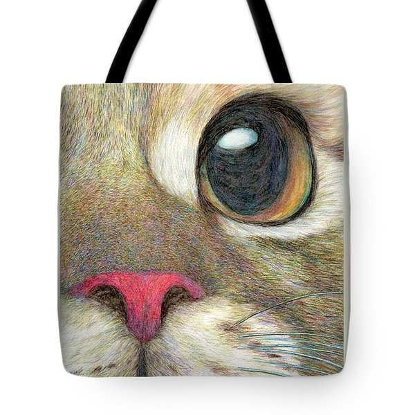 The Face Tote Bag by Jingfen Hwu