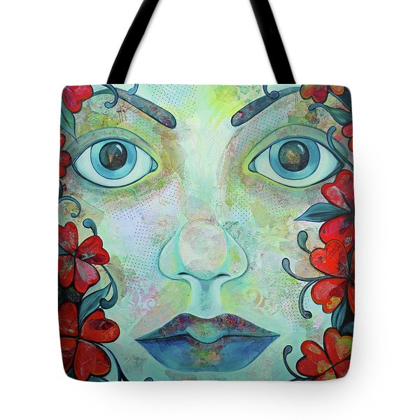 The Face Of Persephone I Tote Bag