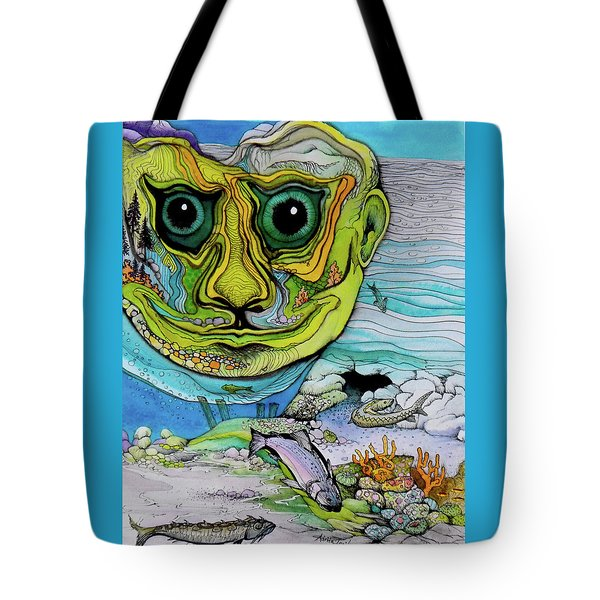 The Face Of Summer Lost Tote Bag