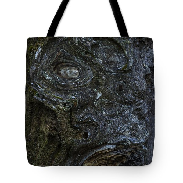 The Face Signed Tote Bag