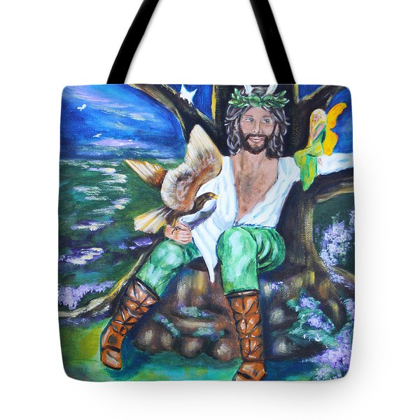 The Faery King Tote Bag