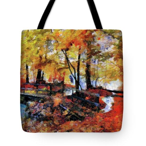 The Failing Colors Of Autumn Tote Bag