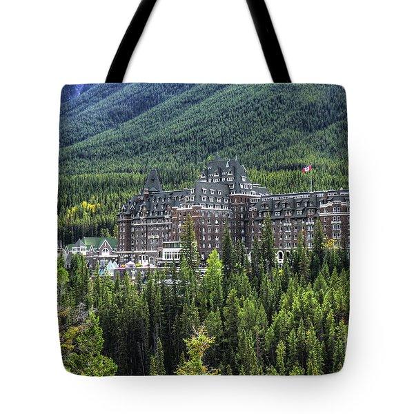 The Fairmont Banff Springs Tote Bag