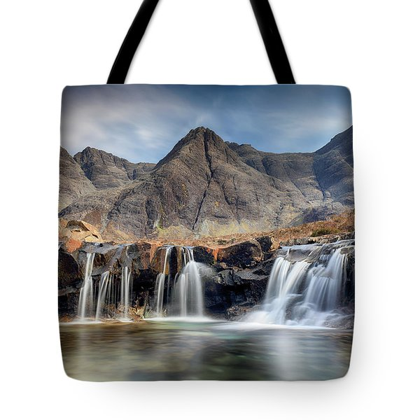 The Fairy Pools - Isle Of Skye 3 Tote Bag by Grant Glendinning
