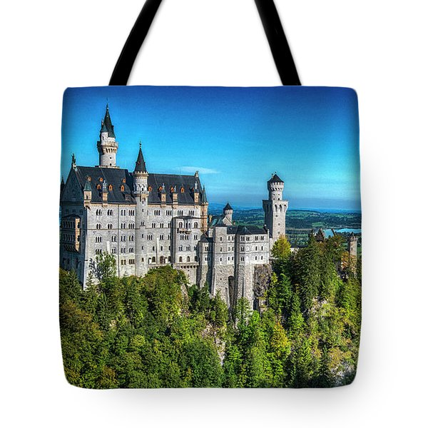 The Fairy Tale Castle Tote Bag by Pravine Chester