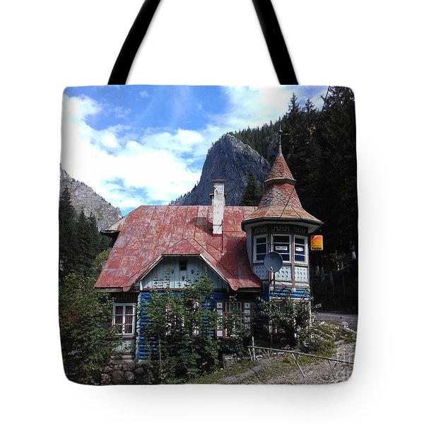 The Fairy Tale House  Tote Bag
