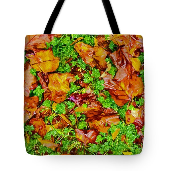 The Fall Of Summer II Tote Bag