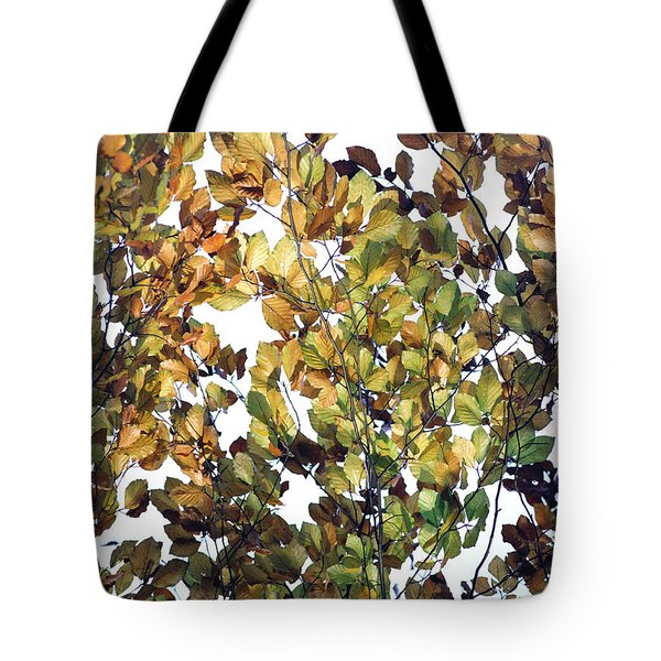 Tote Bag featuring the photograph The Fall by Rebecca Harman
