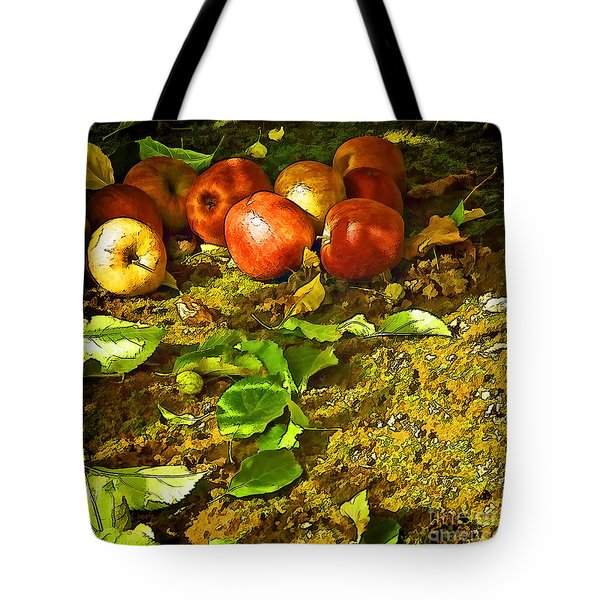 The Fallen Tote Bag by Nancy Marie Ricketts