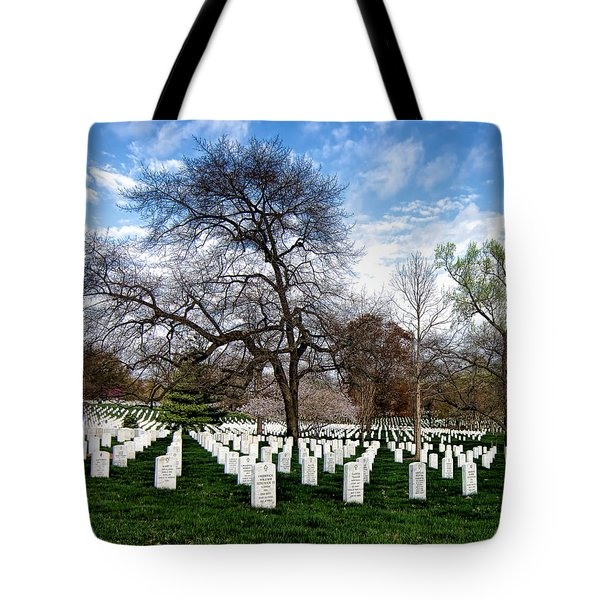 The Fallen Tote Bag