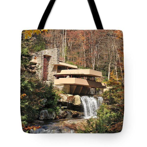 The Fallingwater Tote Bag by Edwin Verin