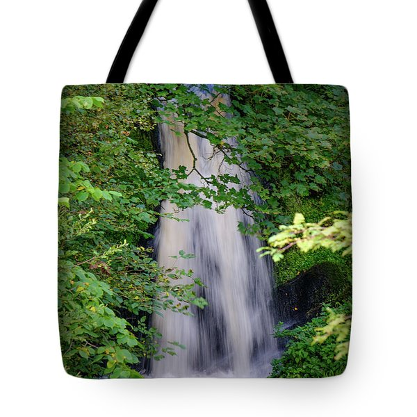 The Falls At Patie's Mill Tote Bag