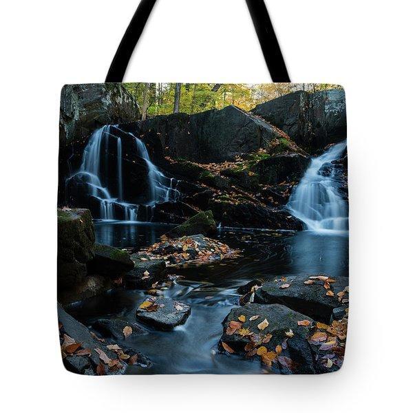 The Falls Of Black Creek In Autumn IIi Tote Bag
