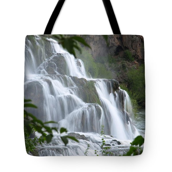 The Falls Of Fall Creek Tote Bag