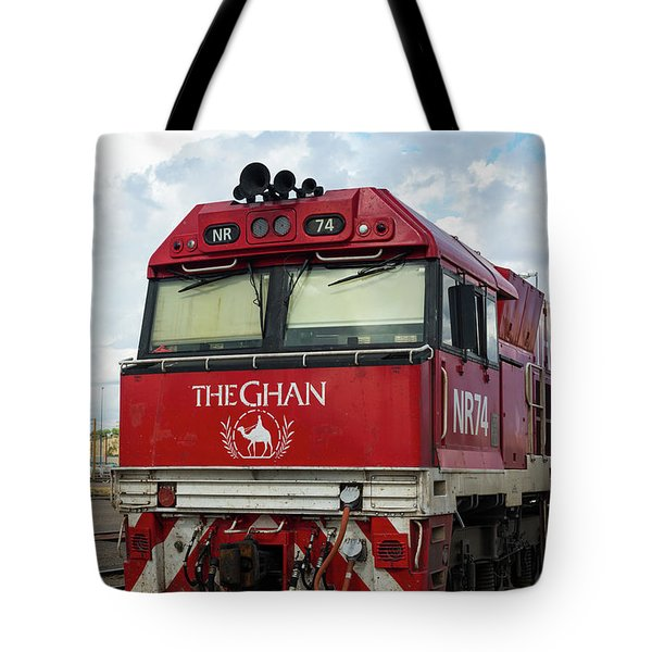 The Famed Ghan Train  Tote Bag