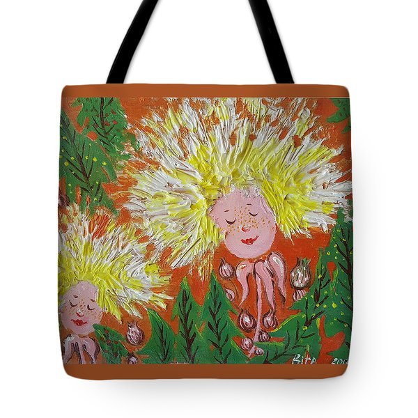 Family 2 Tote Bag by Rita Fetisov