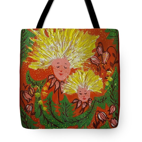 Family Tote Bag by Rita Fetisov