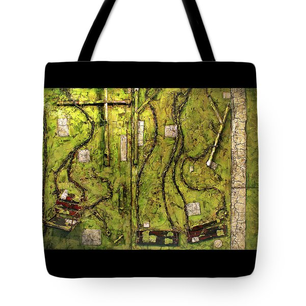 The Family Swing Set Tote Bag