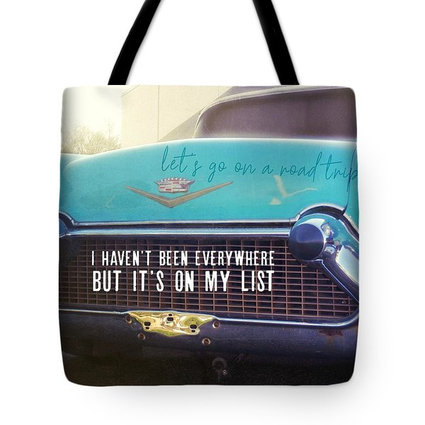 The Famous 57 Seville Quote Tote Bag
