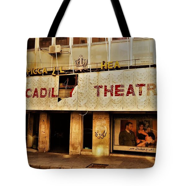 The Famous Beirut Picadilly Theater  Tote Bag