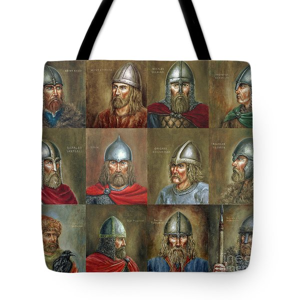 The Famous Vikings Tote Bag by Arturas Slapsys