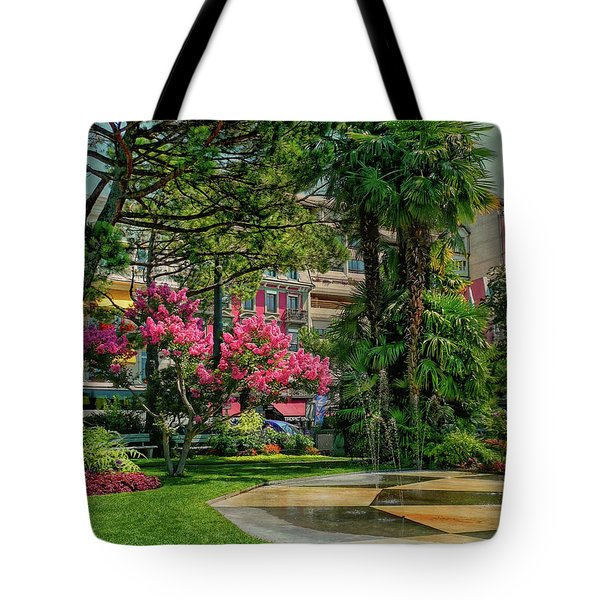 Tote Bag featuring the photograph The Fancy Swiss South-west by Hanny Heim
