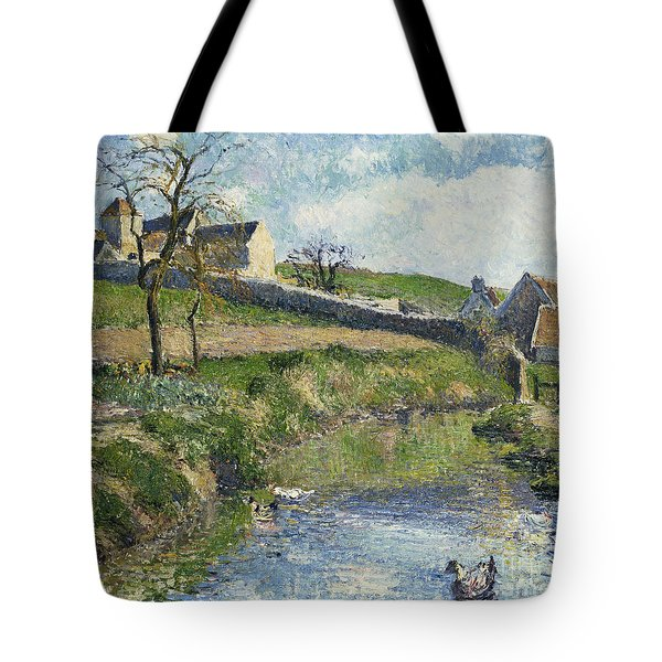 The Farm At Osny Tote Bag