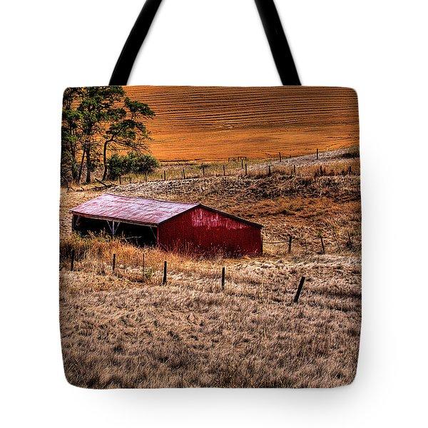 The Farm Tote Bag by David Patterson