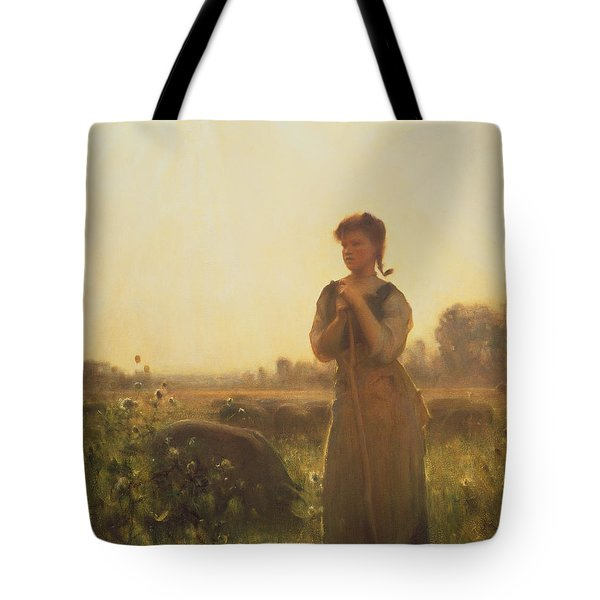 The Farm Girl Tote Bag