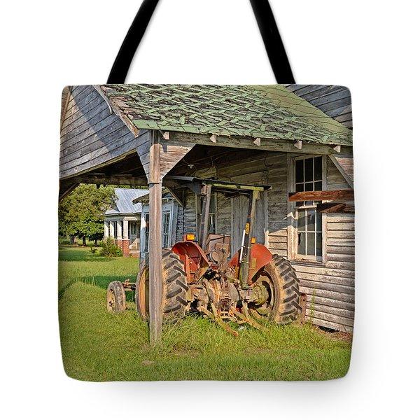 The Farm Life Tote Bag by Linda Brown