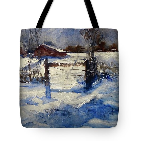 The Farm On Barry Tote Bag