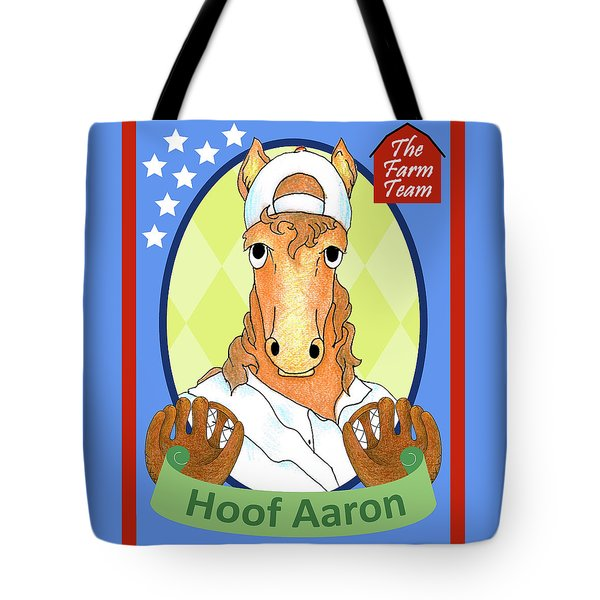 The Farm Team - Hoof Aaron Tote Bag