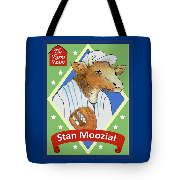 The Farm Team - Stan Moozial Tote Bag