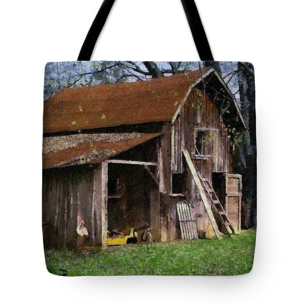 The Farm Tote Bag by Teresa Mucha