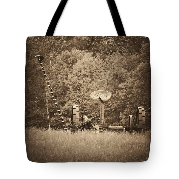 A Farmer's Field Tote Bag