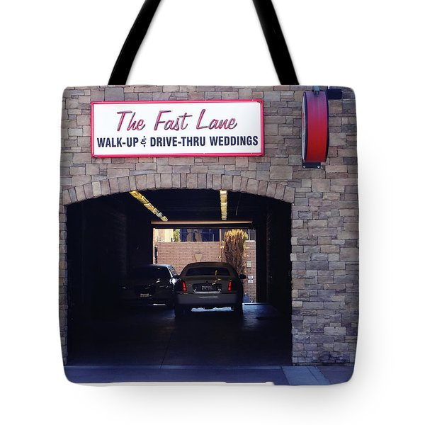 The Fast Lane 2 Tote Bag by Bruce Iorio