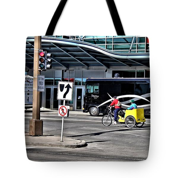 The Fast Lane Tote Bag
