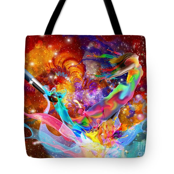 The Fathers Paint Brush Tote Bag