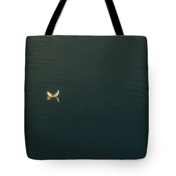 The Feather 2 Tote Bag by Timothy Latta
